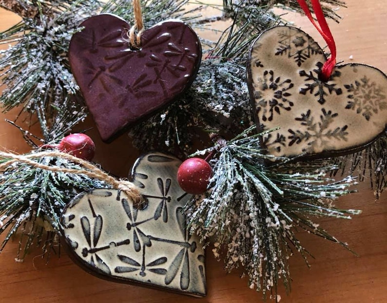 Dragonfly Heart Christmas Ornament image 0