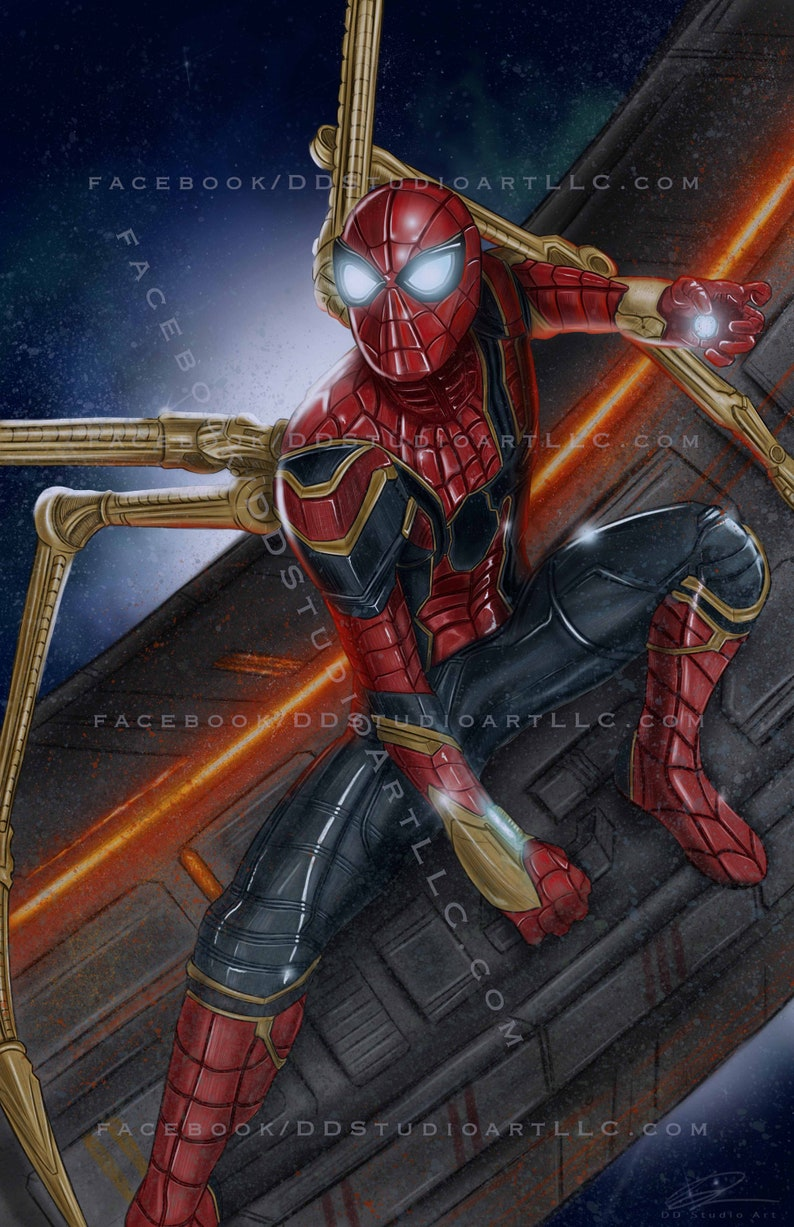 Spider-Man in Iron Spider Suit: 'Avengers Infinity War  image 0