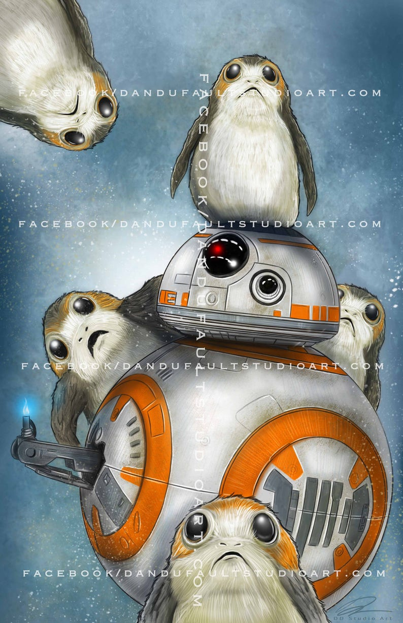 Porgs and BB-8  'Star Wars: The Last Jedi' image 0
