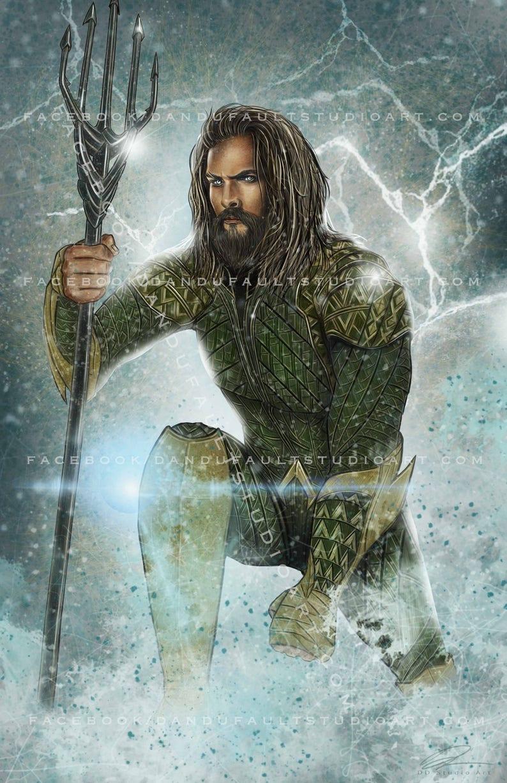 DC's 'Aquaman'  11x17 LIMITED Ed.  Artist image 0