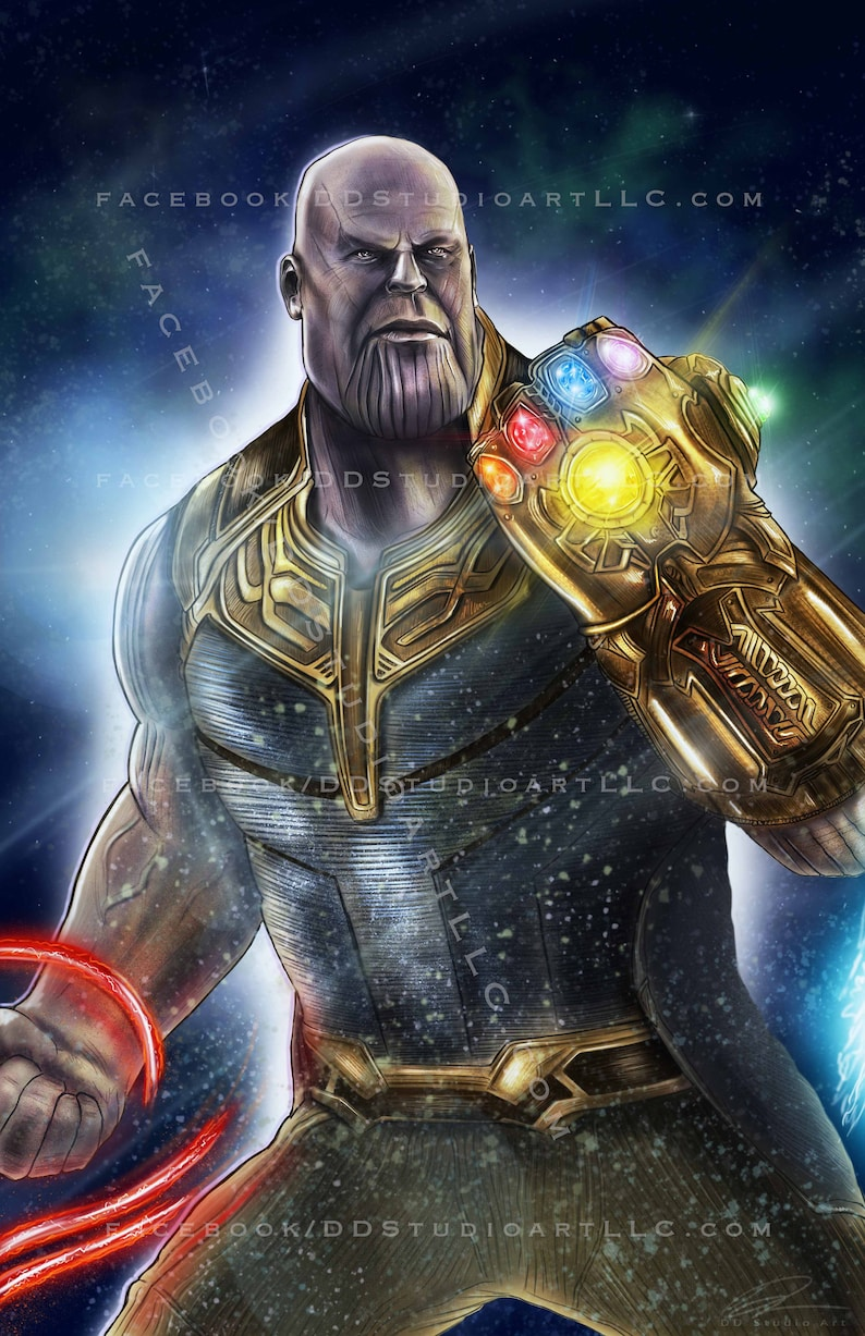 Thanos with Infinity Gauntlet: 'Avengers Infinity War  image 0
