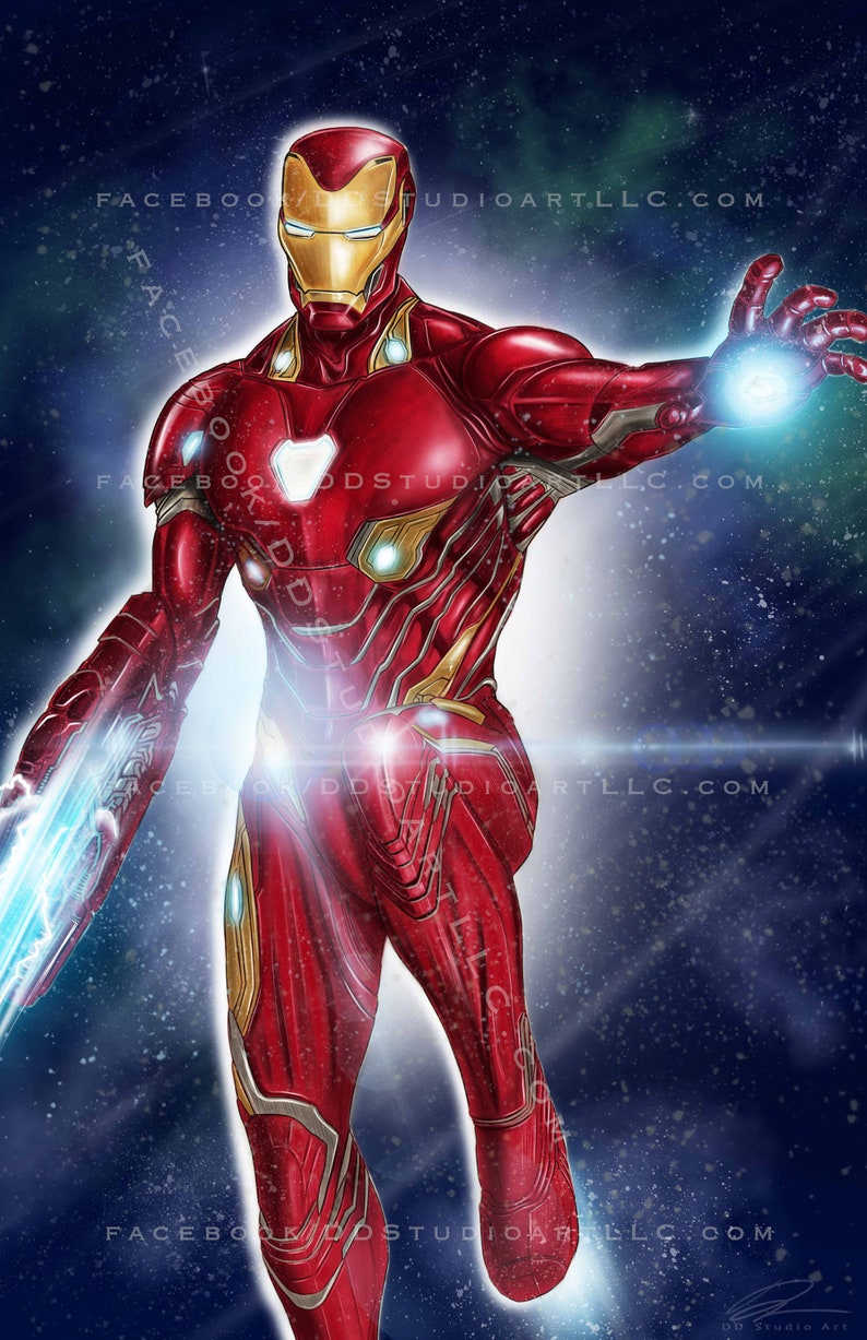Iron Man in NEW Nano Tech Suit: 'Avengers Infinity War  image 0