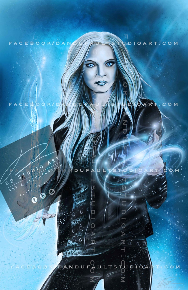 DC and CW's 'Killer Frost' 11x17 Artist image 0