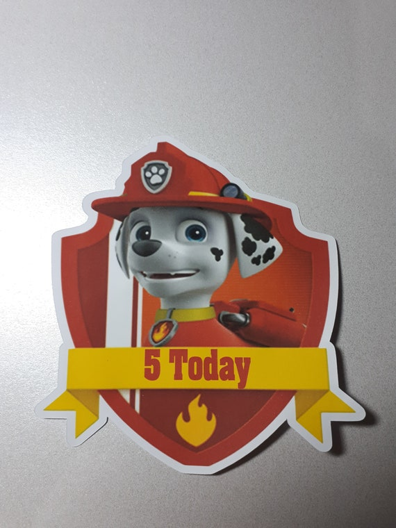 Paw Patrol birthday badges, Paw Patrol party, Paw Patrol Birthday, Chase,  Skye, Rubble, Marshall, Rocky, Zuma, Everest, Ryder,