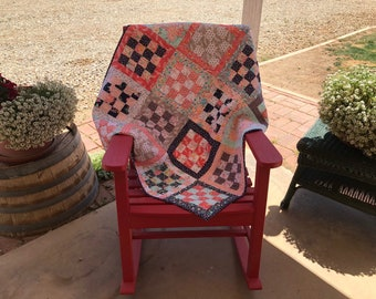 Checker Board Lap Quilt