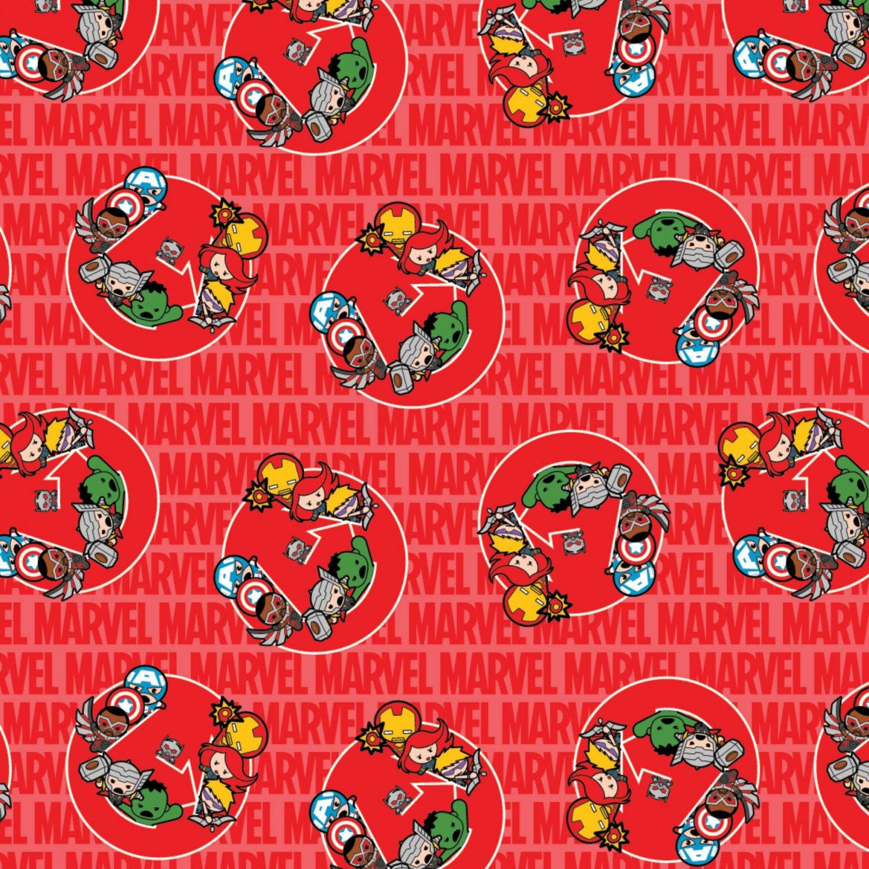Marvel Kawaii United Cotton Woven Marvel Kawaii Marvel