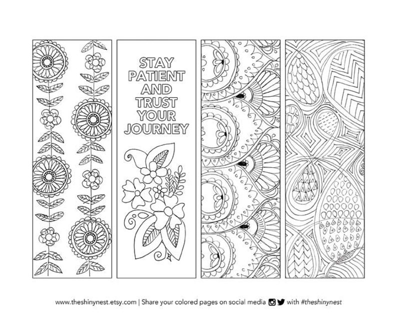 graphic regarding Printable Coloring Bookmarks identified as Coloring Bookmarks, Printable coloring site, Printable Bookmark, Difficult Colouring internet pages for older people, Fast down load