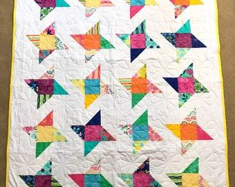 Good Karma Lap Quilt — Homemade