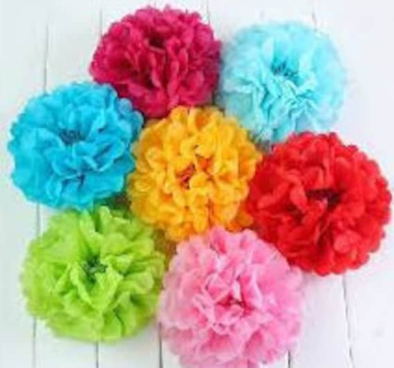 Diy paper tissue flowers templates tutorial pdf quick mightylinksfo