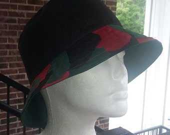 fdc4c54be32fe7 RBG Cotton Bucket Hat / Patchwork RBG Bucket Hat