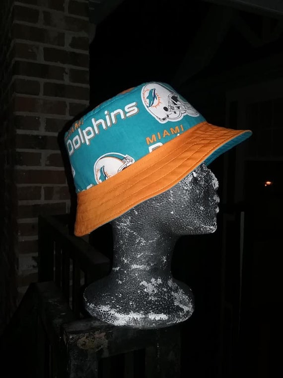 70b1683a Dolphins, Browns, Dallas Fabric Bucket Hats/ Custom Team Hats