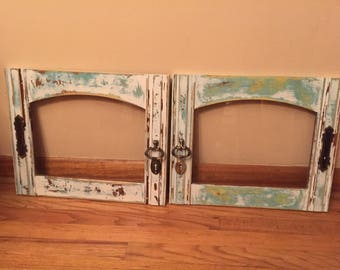 Shabby Chic Faux windows