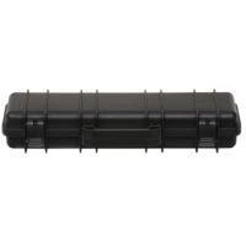 Tactical Rifle Case Pen Box in Black Desert Tan or Green image 0