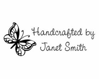 Handcrafted by Butterfly Stamp - SC70