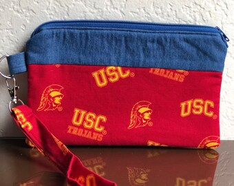USC Handmade Wristlet