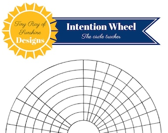 Intention Wheel: The Circle Tracker