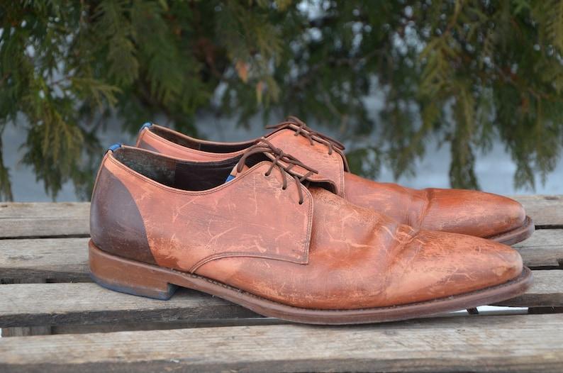 super popular 7ecda a8ed7 Braun Herren Schuhe, braune Spitze bis schlicht Toe Schuhe, Schuhe, Herren  Lederschuhe, Leder Herren, Herrenschuhe, Schuhe, braune Oxford-Schuhe