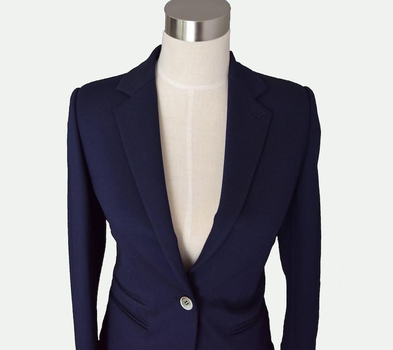 3bb9b7d056b8 Frauen Custom Marineblau Anzug passen schlanke Frauen Langarm-Jacke,  Blazer, Damen blazer