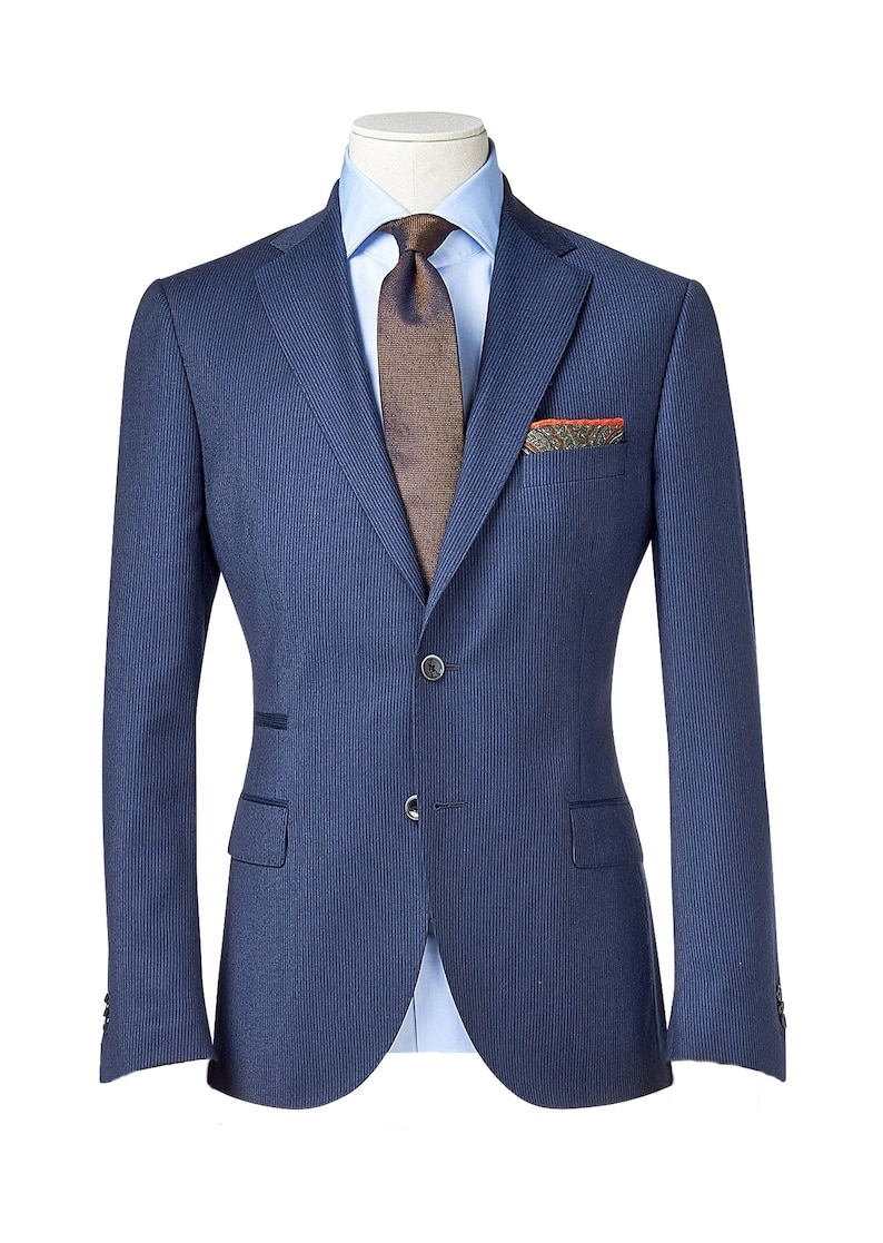 116ba9cb96b Men s custom suit  Full canvas  Super 120s Wedding Suit