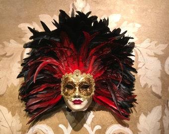Venetian Mask,Feather Princess,Original Veneice Mask