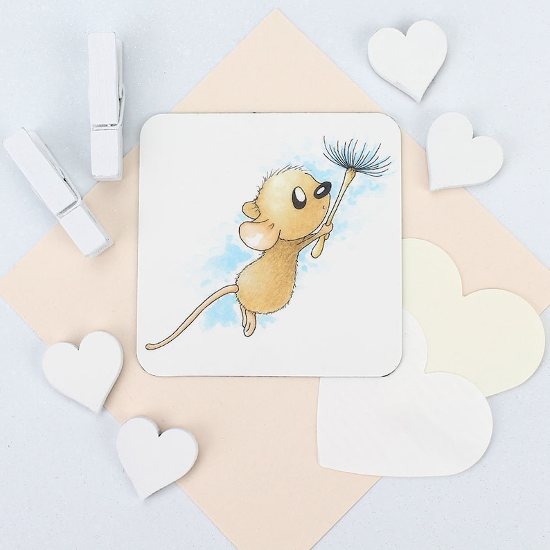 teenage girl sister girls party bag gift niece teen girl Wildlife birthday gift for daughter cute stationery Mouse cute animal Magnet