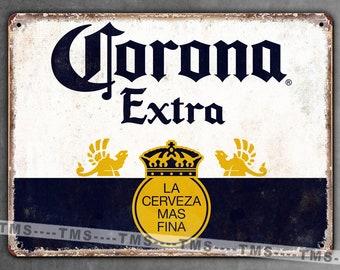 metal sign plaque vintage retro style Stella Artois bar lager man cave 20 x 15cm