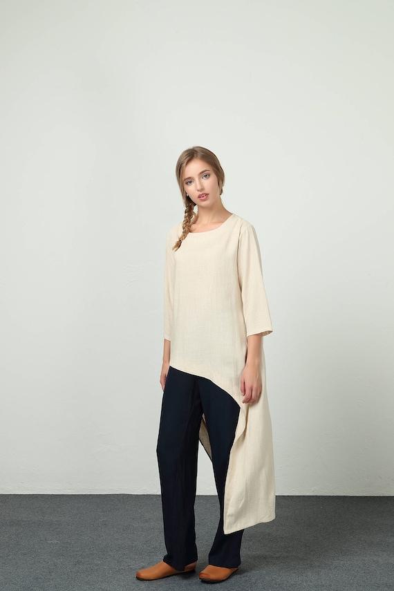 a33ee2dc2ce51 Women s Loose maxi dress unique design cotton Linen kaftan
