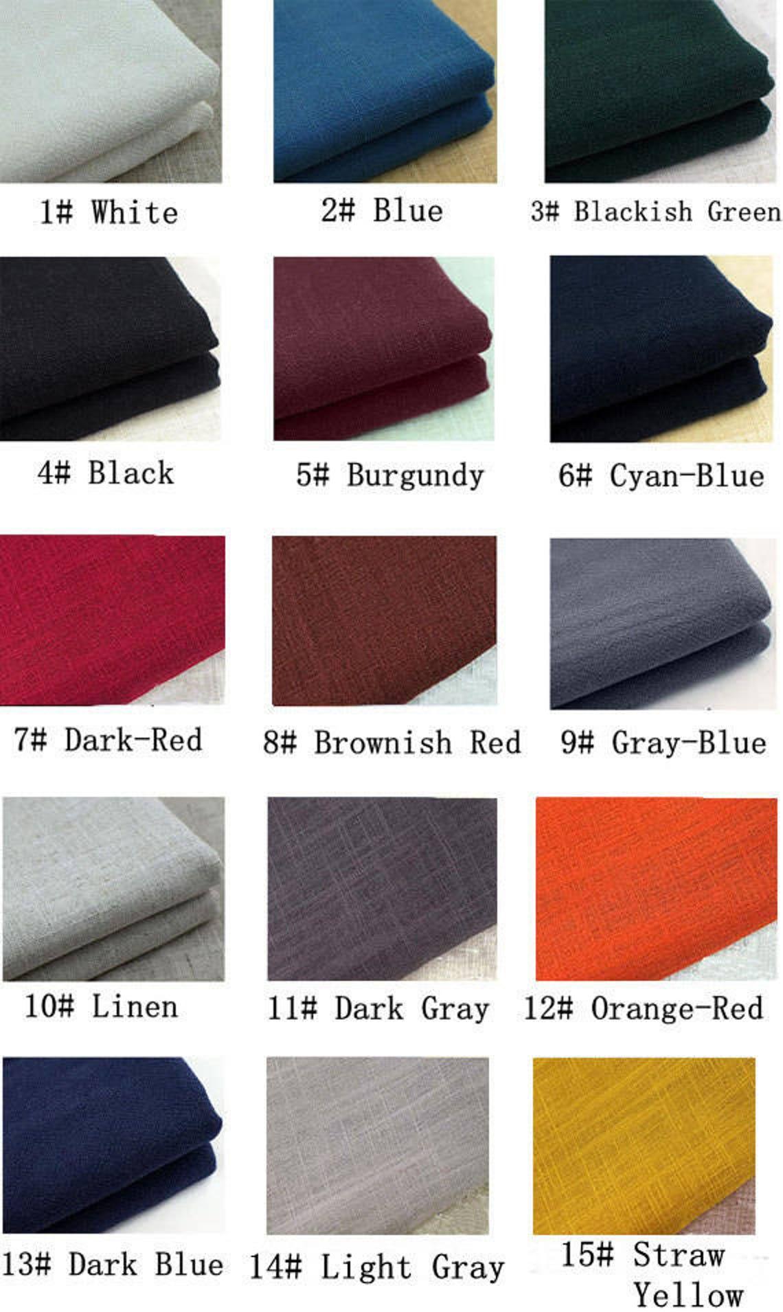 Women's cotton linen maxi dress scoop neck long sleeves