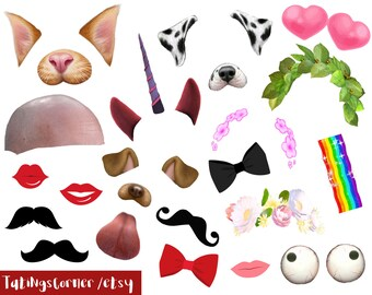 Emoji Photo Booth Props Emoji Stickers Whatsapp Emojis Etsy