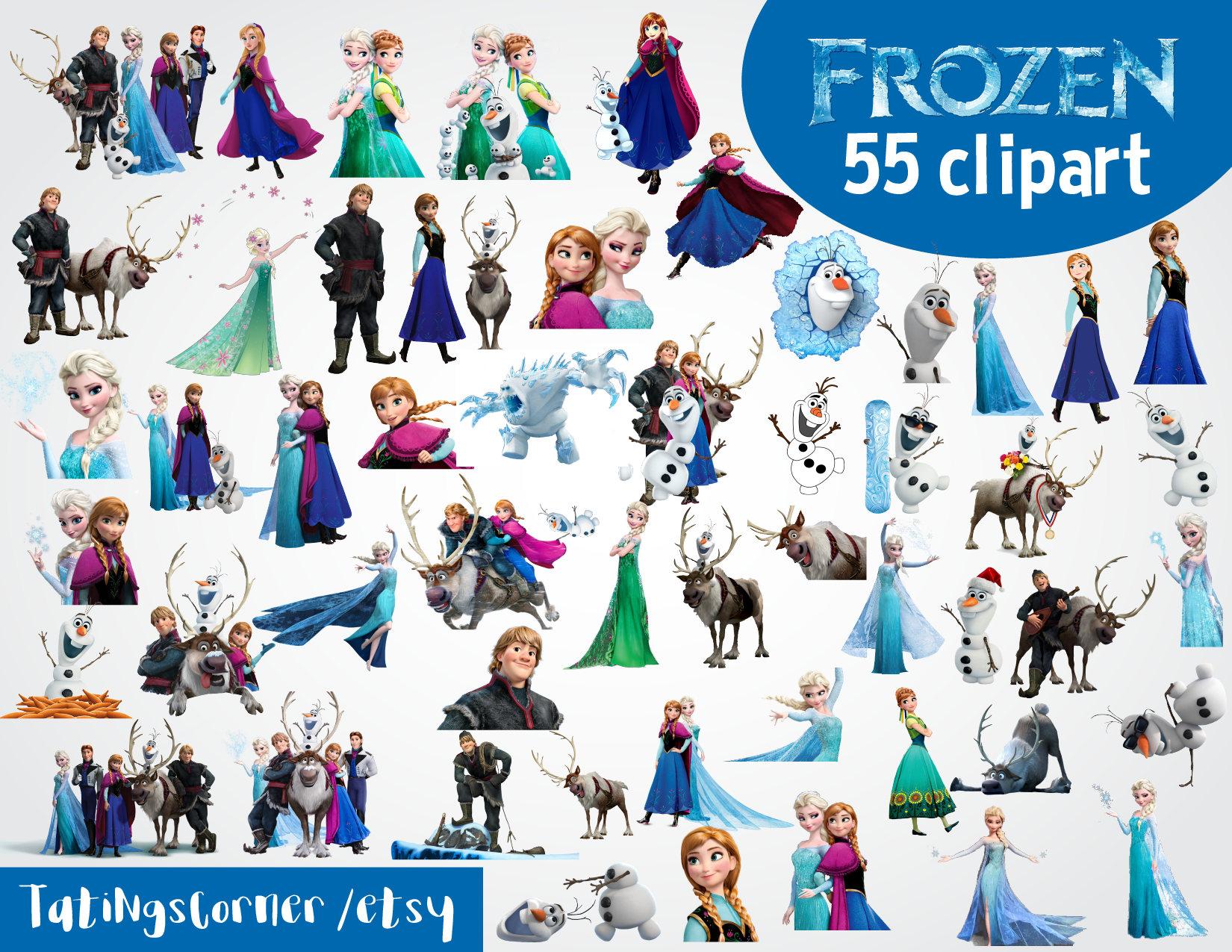 55 gefrorene Clipart gefrorene Clipart Frozen PNG-Bilder | Etsy