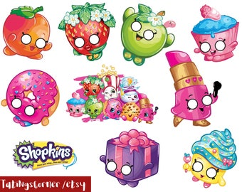 Shopkins - Shopkins Photo Booth - Shopkins photobooth - Shopkins Themed Photo Booth Props - Shopkins printables - Shopkins party - instant