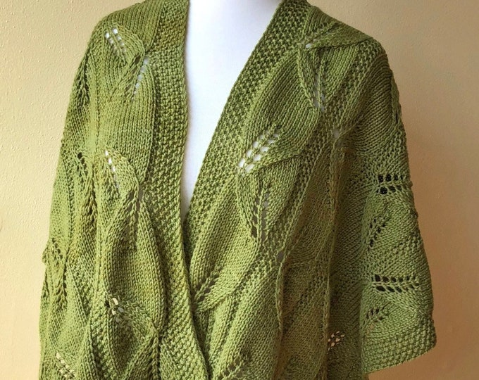 'Salal' Knit Lace Wrap (Christopher Knits Original)