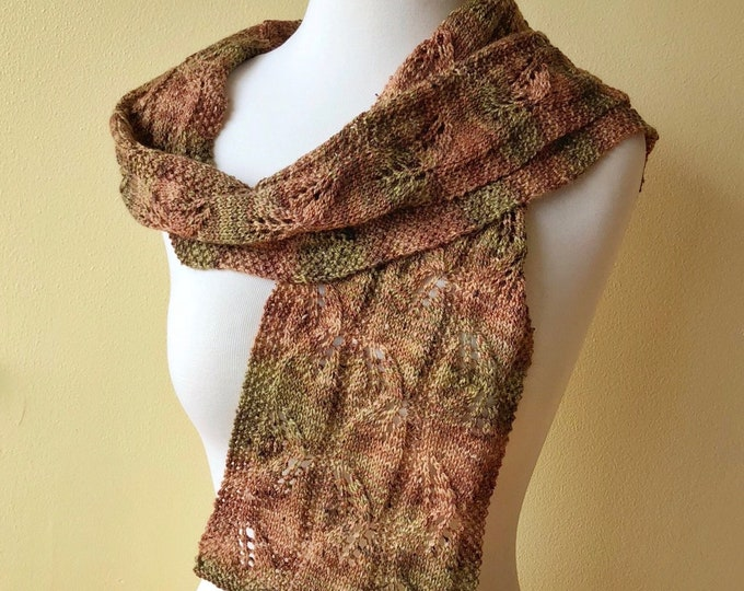 'Salal' Handknit Tweed Scarf (Christopher Knits Original)
