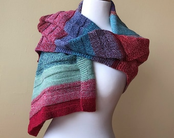 Striped Wool Wrap (CK Original)