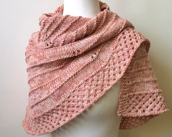 Peach Wool Capelet