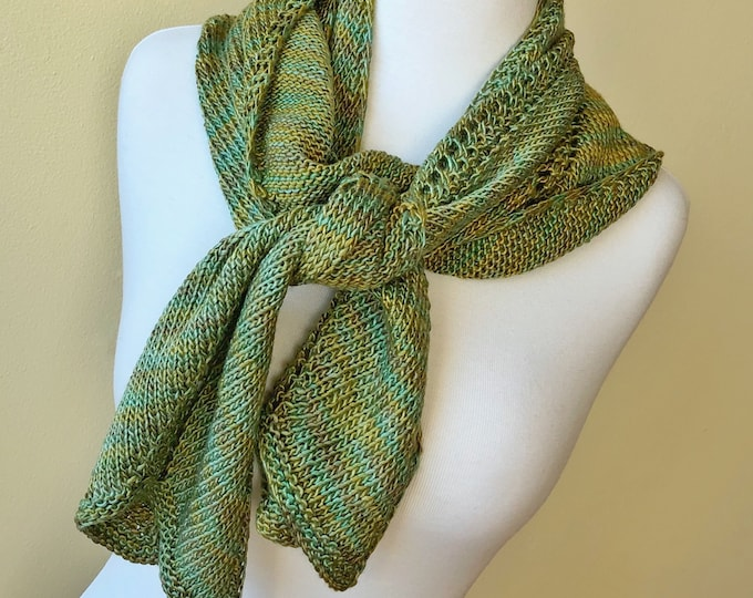 'Siren' Pure Silk Scarf (Christopher Knits Original)