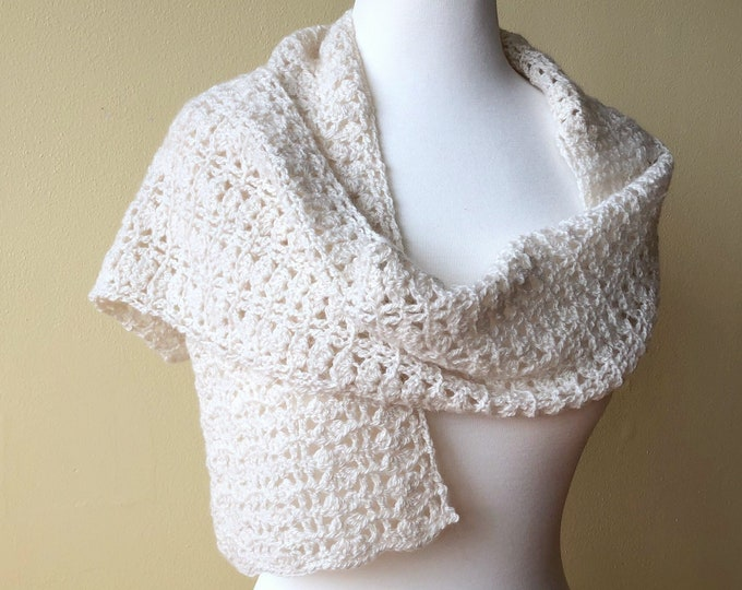 Pure Cashmere Shawlette (Christopher Knits Original)