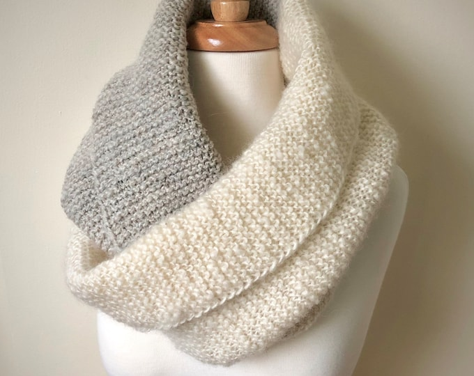 Ivory and Grey Wrap (CK Original)