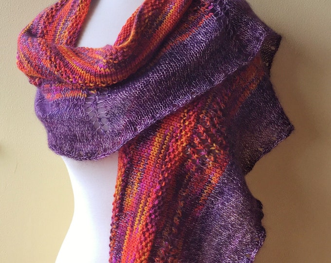 'Bird of Paradise' Knit Wrap (Christopher Knits Original)