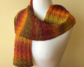 'Fall Colors' Wool Scarf (CK Original)