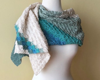 'Sail Away' Wrap/Shawl (CK Original)