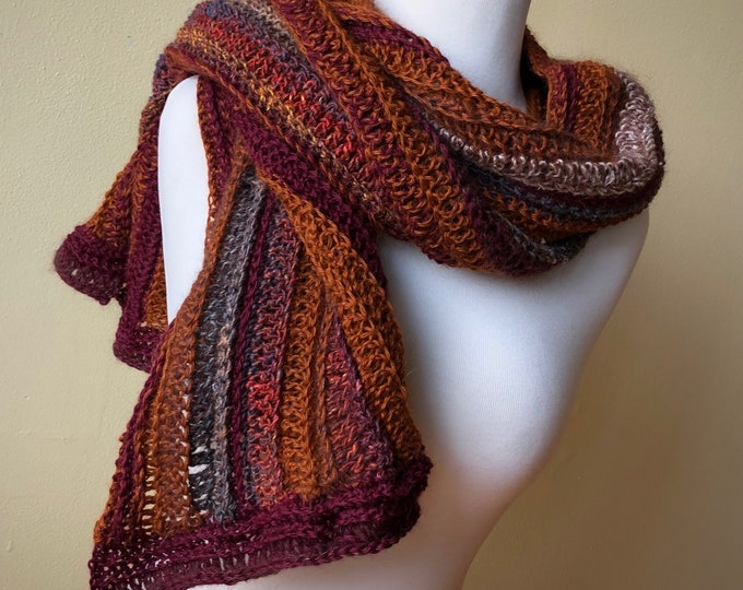 Crochet Wrap 'Late November'