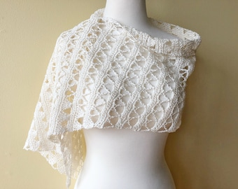 Linen Bridal Shawl (CK Original)