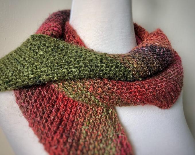Bias-Knit Scarf