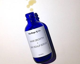 Hair Growth + Dry Scalp Serum