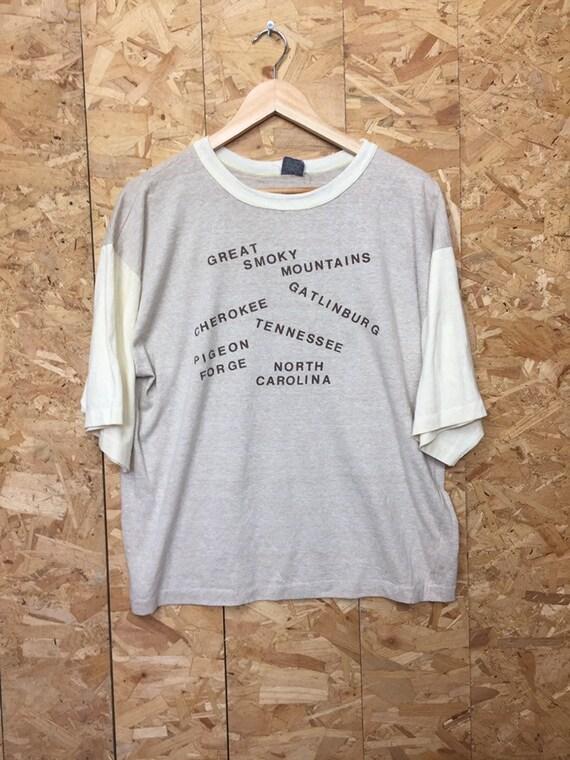 Fletcher Creamer /& Son Contractors t-shirt Large 80s J
