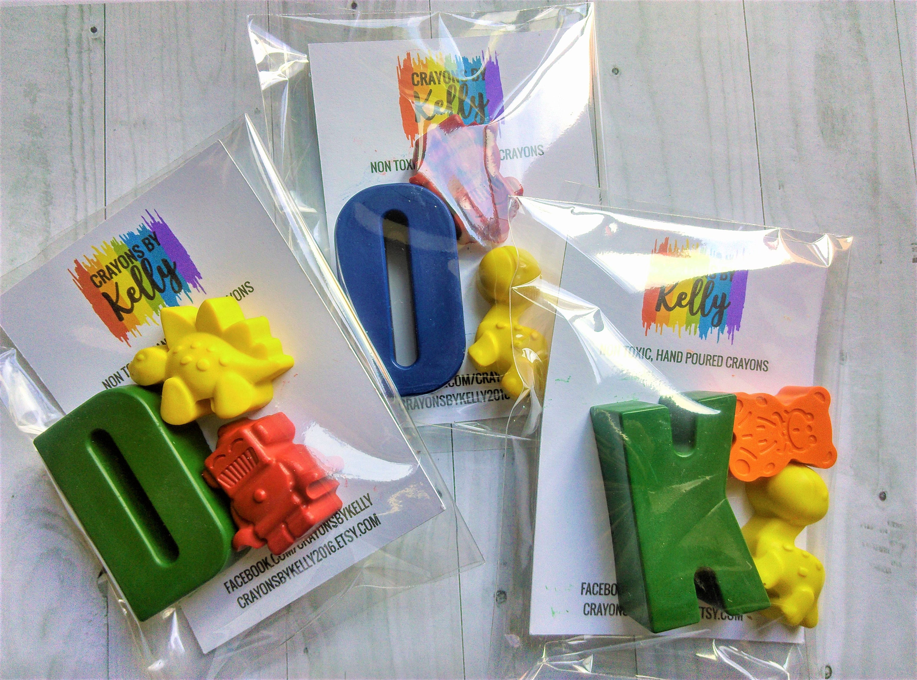 Ice Lolly Shaped Crayons Perfect Children/'s Gift not crayola Party Bags