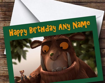 Gruffalo Birthday Etsy