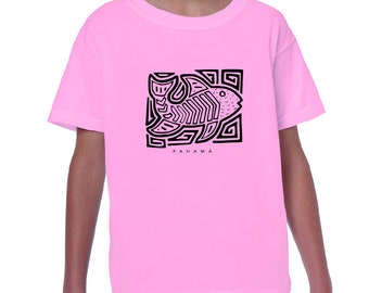 Ethnic Fish Kids T Shirt
