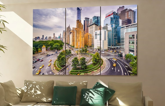 New York  skyline New York  wall art New York  city New York  art New York  cityscape New York  downtown New York  canvas